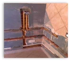 reparación tuberías de agua